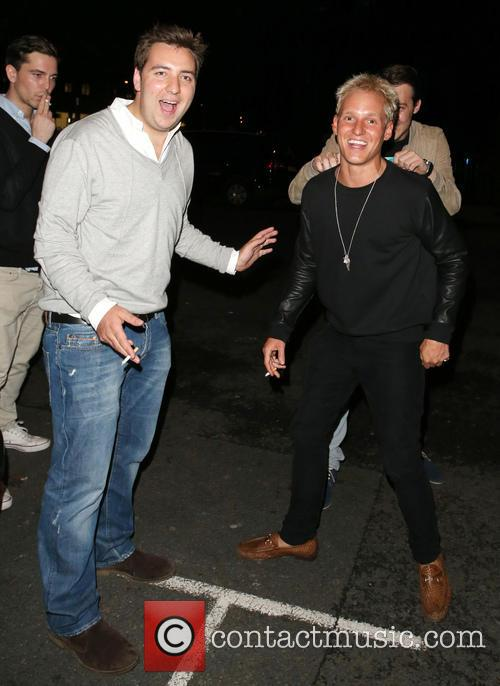 Celebrities at Morton's 2&8 club