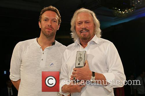 Chris Martin and Barry Gibb 6