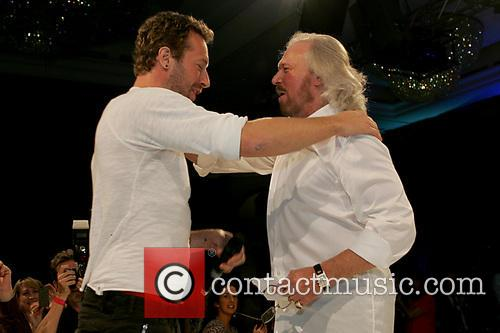Chris Martin and Barry Gibb 2