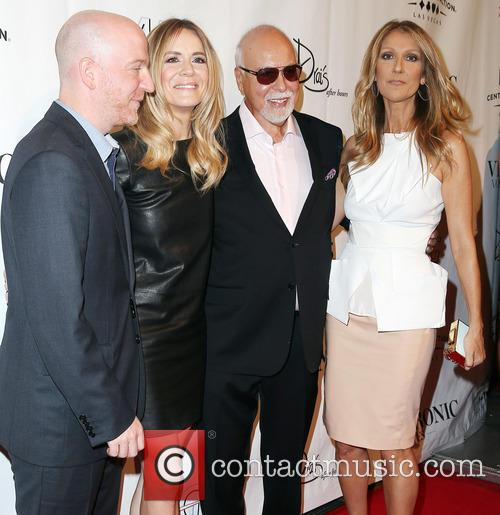 Guest, Veronic Diclaire, Rene Angelil and Celine   Dion 1