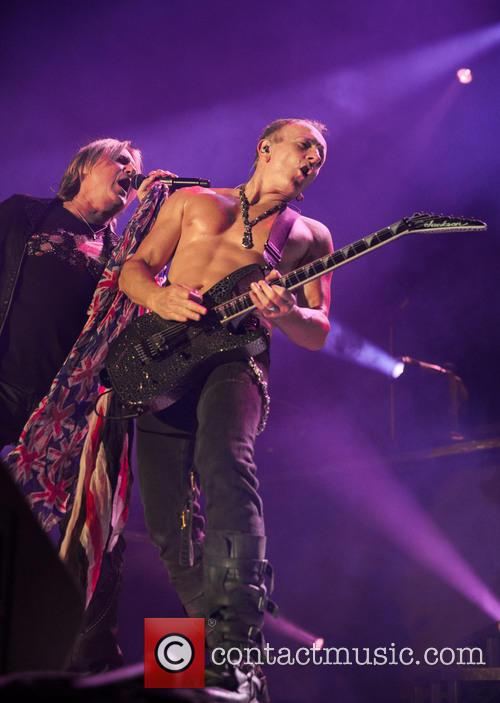 Def Leppard perform live
