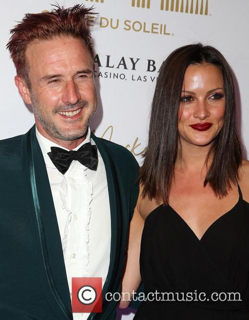 David Arquette and Christina McLarty 8