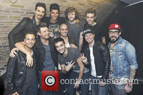 Nick Carter, Aj Mclean, Kevin Richardson, Howie Dorough, Brian Littrell, Backstreet Boys, Max George, Siva Kaneswaran, Jay Mcguiness, Nathan Sykes, Tom Parker and The Wanted 2
