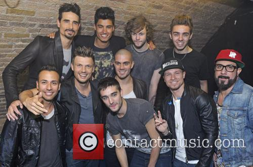 Nick Carter, Aj Mclean, Kevin Richardson, Howie Dorough, Brian Littrell, Backstreet Boys, Max George, Siva Kaneswaran, Jay Mcguiness, Nathan Sykes, Tom Parker and The Wanted 3
