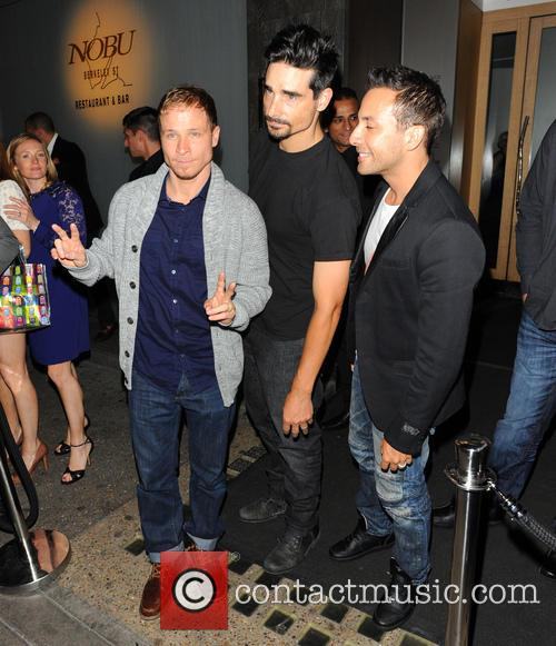 Brian Littrell, Kevin Richardson, Howie Dorough and Backstreet Boys