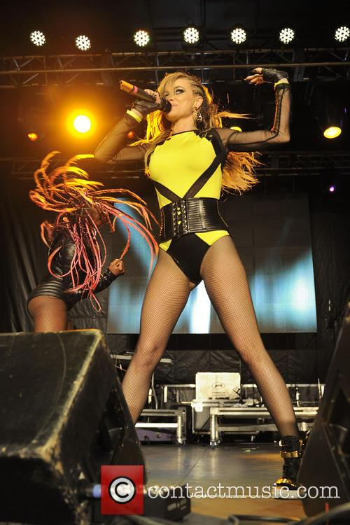 Carmen Electra performs during Pride Toronto 2013