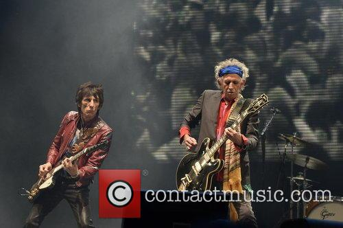 Keith Richards and Ronnie Wood 1