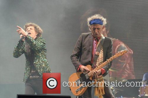 Mick Jagger and Keith Richards 10