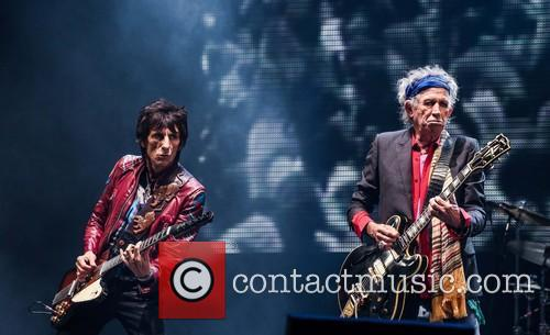 Ronnie Wood, Keith Richards and Rolling Stones 1