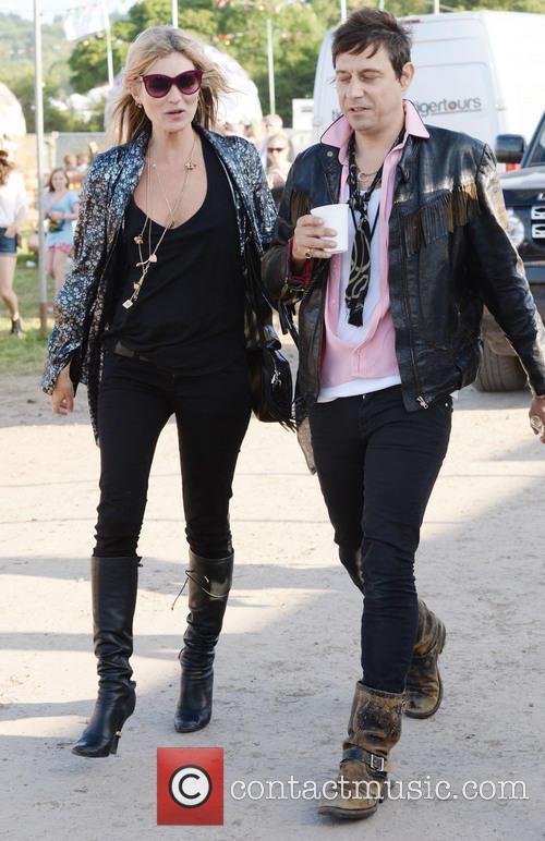 Kate Moss, Jamie Hince, Glastonbury Festival