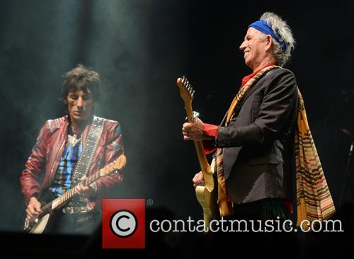 Ronnie Wood, Keith Richards and The Rolling Stones 3