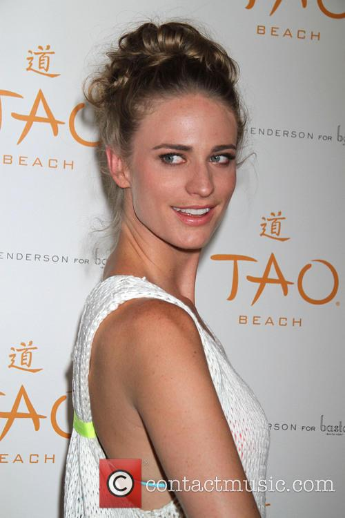 Julie Henderson at TAO Beach