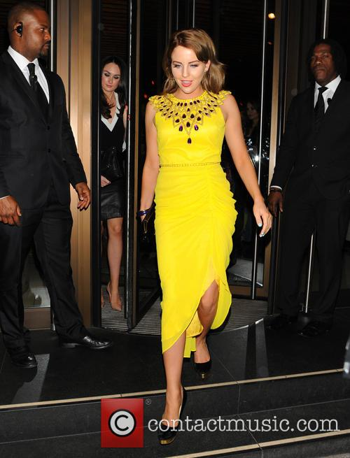 Celebrities at Novikov restaurant in Mayfair