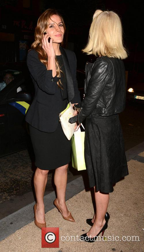 Amanda Byram and Yvonne Keating 2