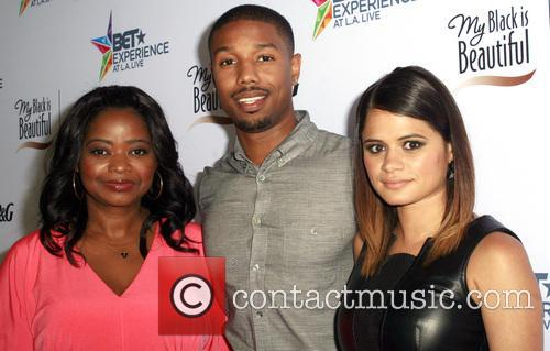 Octavia Spencer, Michael B. Jordan and Melonie Diaz 2