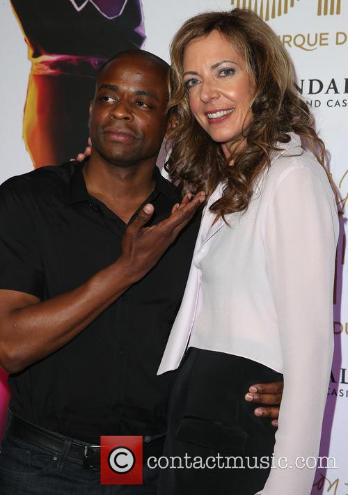 Dule Hill and Allison Janney 3