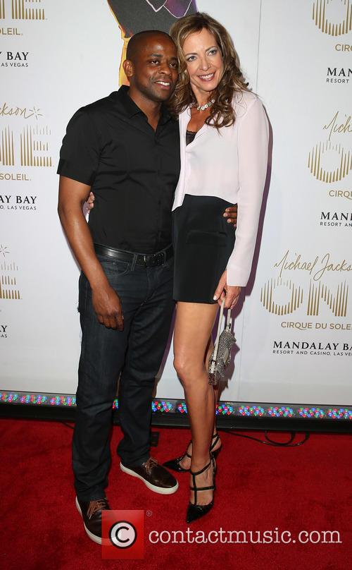 Dule Hill and Allison Janney 6