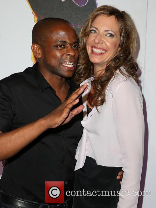Dule Hill and Allison Janney 7