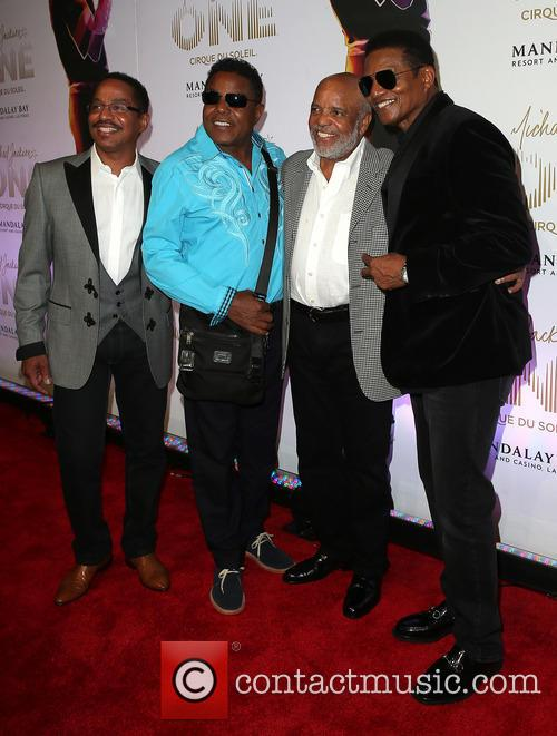 Marlon Jackson, Jackie Jackson, Berry Gordy, Tito Jackson, Mandalay Bay Resort and Casino