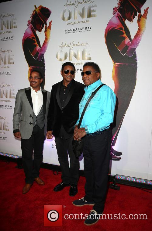 Marlon Jackson, Jackie Jackson and Tito Jackson 1