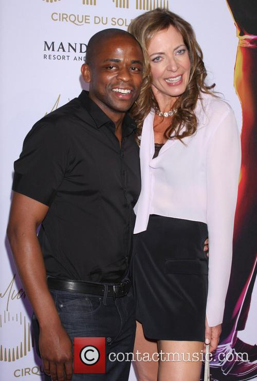 Allison Janney and Dule Hill 5