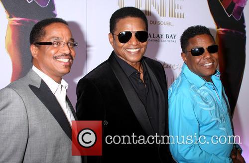 Tito Jackson, Jackie Jackson and Marlon Jackson 7