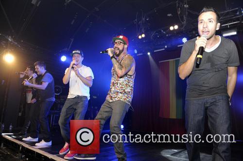 Backstreet Boys, A. J. McLean, Howie Dorough, Nick Carter, Kevin Richardson and Brian Littrell 4