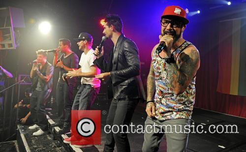 Backstreet Boys, A. J. McLean, Howie Dorough, Nick Carter, Kevin Richardson and Brian Littrell 7