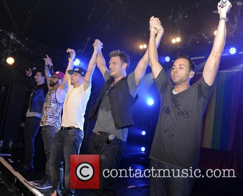Backstreet Boys, A. J. McLean, Howie Dorough, Nick Carter, Kevin Richardson and Brian Littrell 8