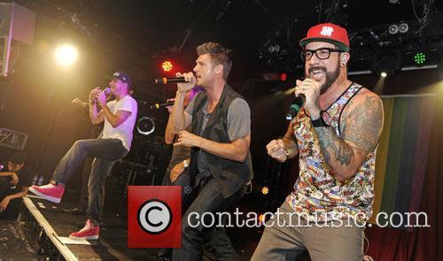 Backstreet Boys, A. J. McLean, Howie Dorough, Nick Carter, Kevin Richardson and Brian Littrell 9