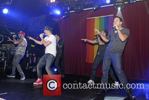Backstreet Boys, A. J. McLean, Howie Dorough, Nick Carter, Kevin Richardson and Brian Littrell 10