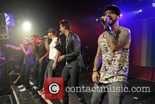 Backstreet Boys, A. J. McLean, Howie Dorough, Nick Carter, Kevin Richardson and Brian Littrell 12