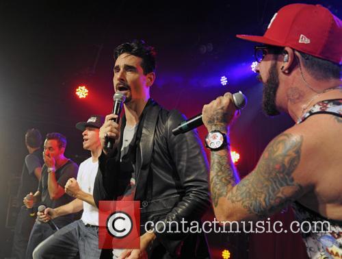 Backstreet Boys, A. J. McLean, Howie Dorough, Nick Carter, Kevin Richardson and Brian Littrell 13