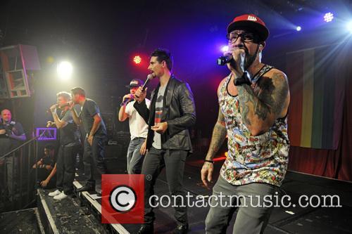 Backstreet Boys, A. J. McLean, Howie Dorough, Nick Carter, Kevin Richardson and Brian Littrell 14