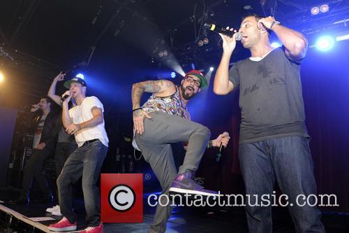 Backstreet Boys, A. J. McLean, Howie Dorough, Nick Carter, Kevin Richardson and Brian Littrell 15