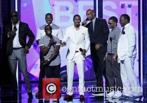 Duane Martin, Nick Cannon, Jb Smoove, Boris Kodjoe, Nelly, Kevin Hart and Bobby Brown 1