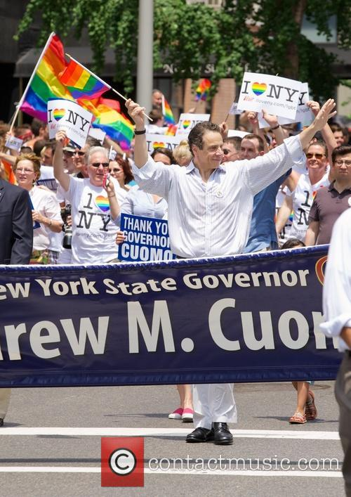 andrew cuomo gay pride march in nyc 3741602