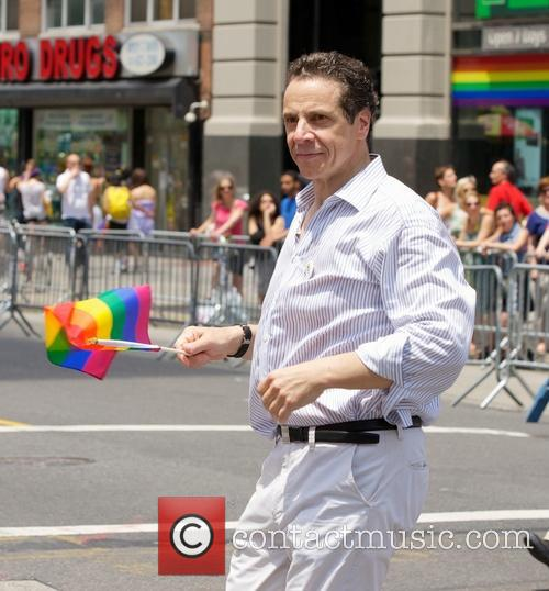 andrew cuomo gay pride march in nyc 3741604