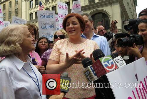 Christine Quinn and Edie Windsor 5