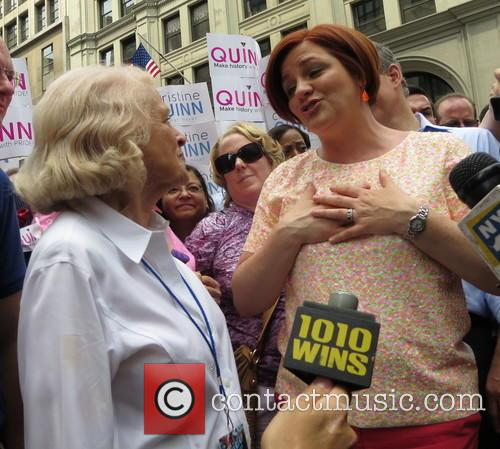 christine quinn edie windsor gay pride march 2013 3741882