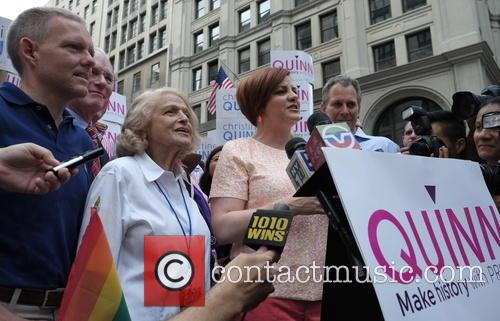 Christine Quinn, Edie Windsor, Tim Gun and Jimmy Van Bramer 2