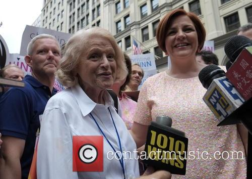 Christine Quinn, Edie Windsor, Tim Gun and Jimmy Van Bramer 4