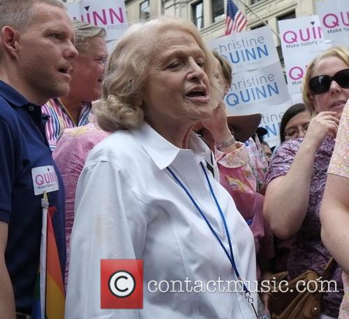 Christine Quinn, Edie Windsor, Tim Gun and Jimmy Van Bramer 1