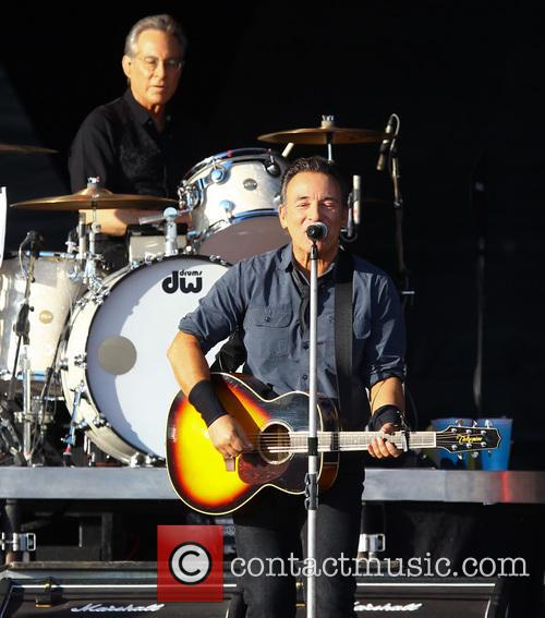 Bruce Springsteen and Max Weinberg 9