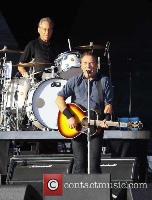 Bruce Springsteen, Max Weinberg, Queen Elizabeth Olympic Park, Hard Rock Calling
