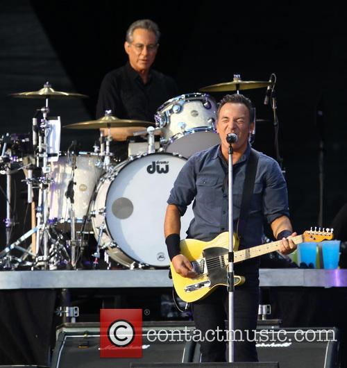 Bruce Springsteen and Max Weinberg 1