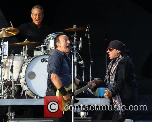 Bruce Springsteen, Steven Van Zandt, Max Weinberg, Queen Elizabeth Olympic Park, Hard Rock Calling