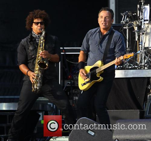 Jake Clemens and Bruce Springsteen 2