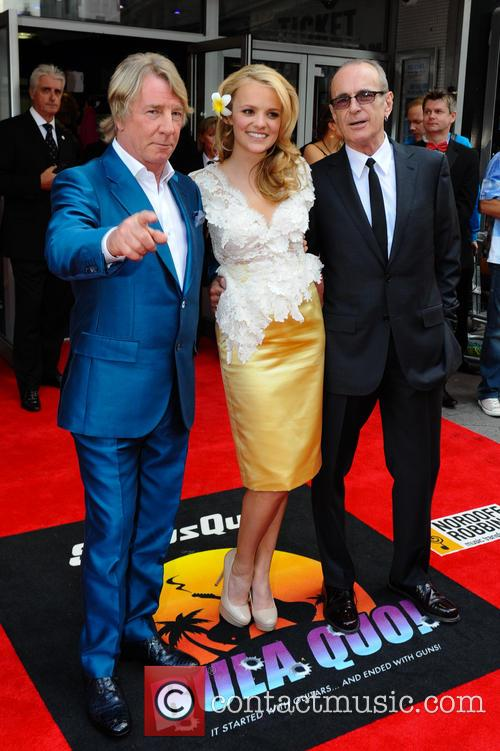 Rick Parfitt, Laura Aikman, Francis Rossi, Odeon Leiceseter Sq , Odeon West End