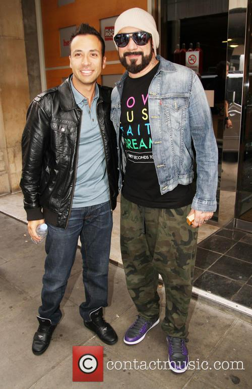 Howie Dorough, A.j. Mclean and Backstreet Boys